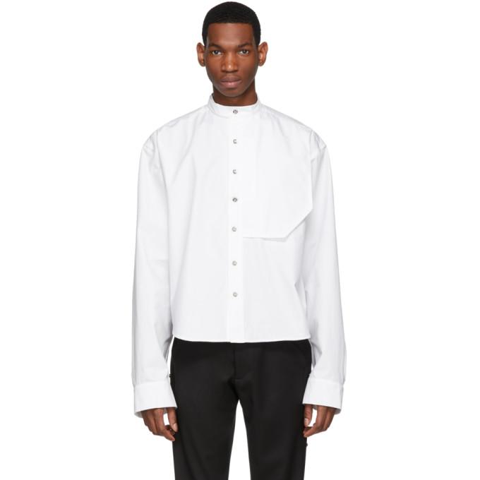 S.P. Badu ホワイト ドレス シャツ