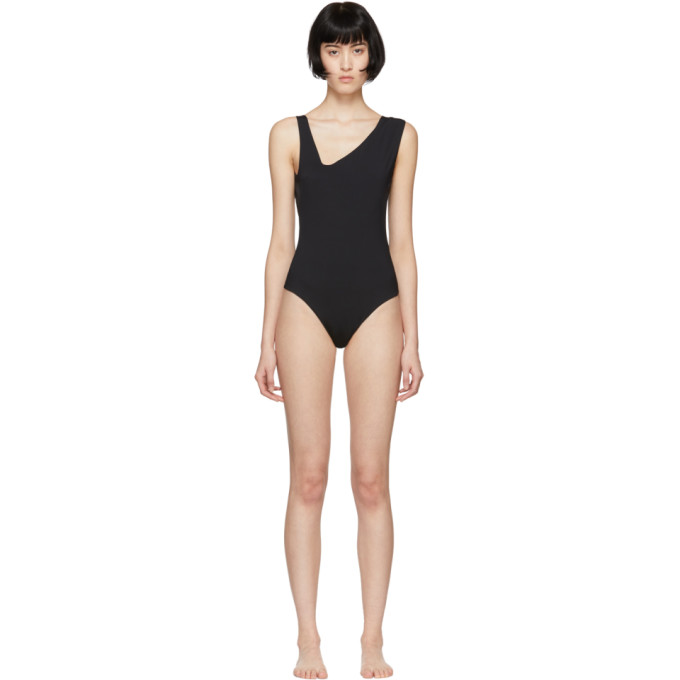 HAIGHT Haight Black Lucia One-Piece Swimsuit