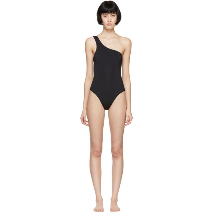 HAIGHT Haight Black Organic One-Piece Swimsuit
