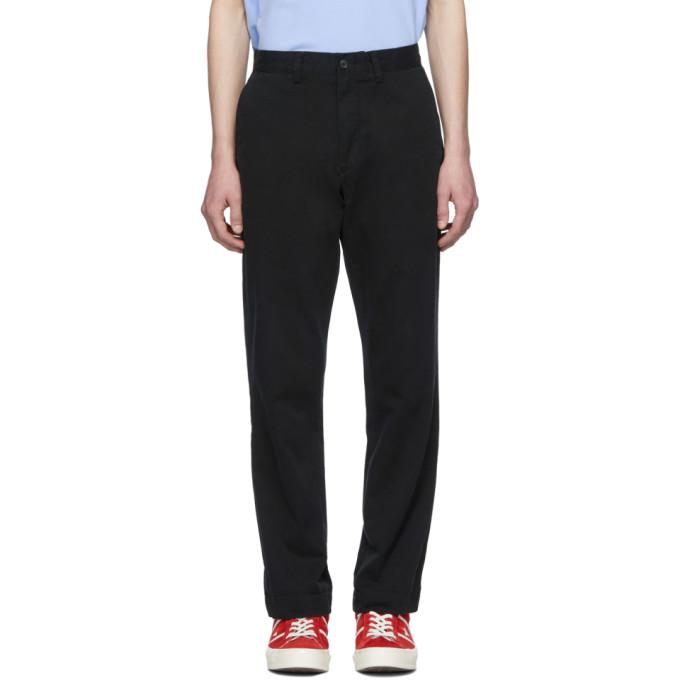 Polo Ralph Lauren Black Bedford Trousers