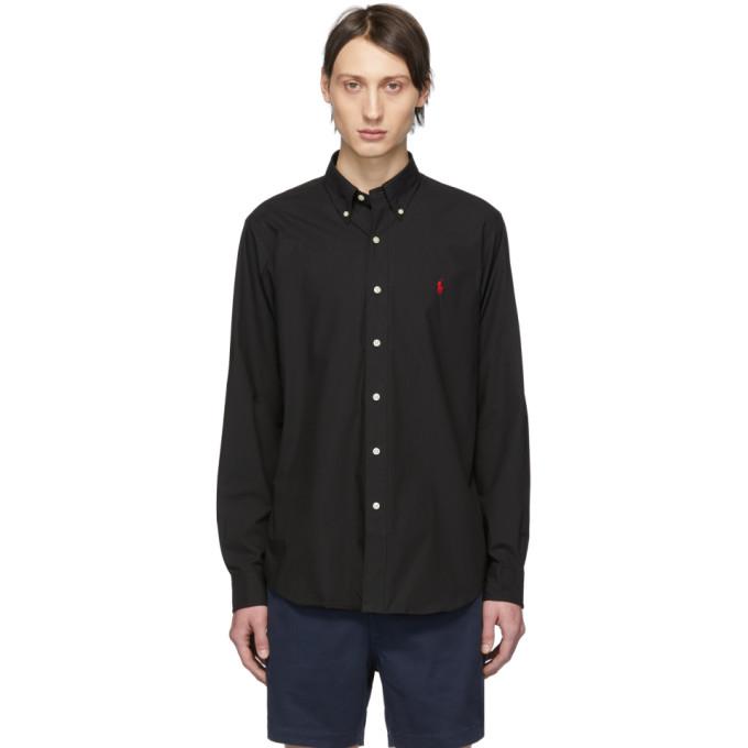 Polo Ralph Lauren Black Poplin Shirt