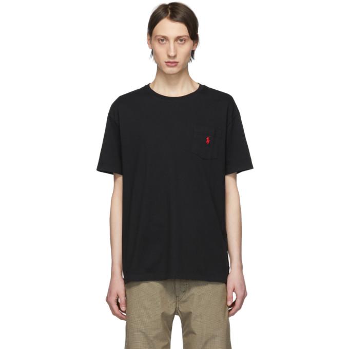 Polo Ralph Lauren Black Logo Pocket  T-Shirt