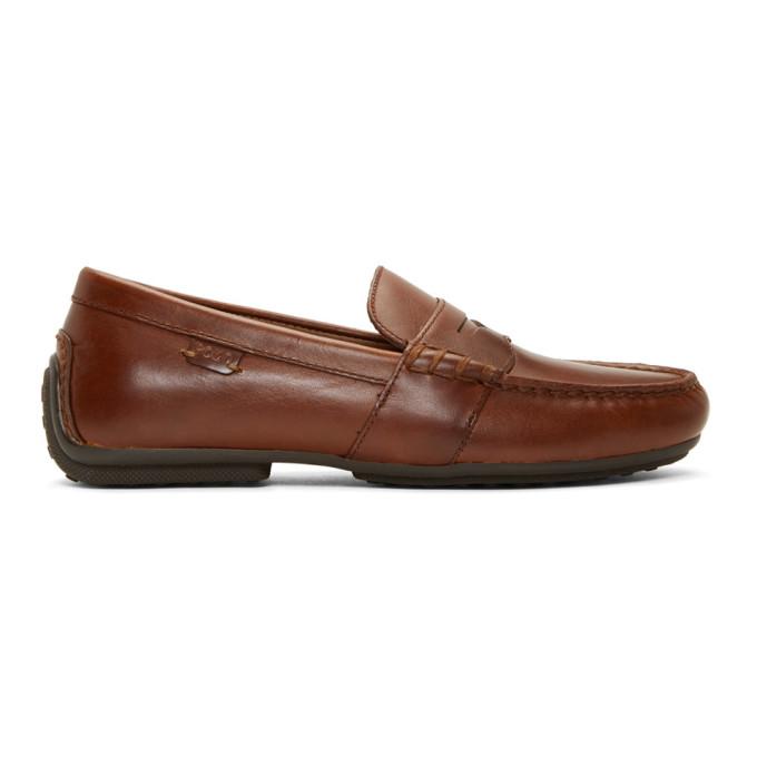 Polo Ralph Lauren Brown Reynold Loafers