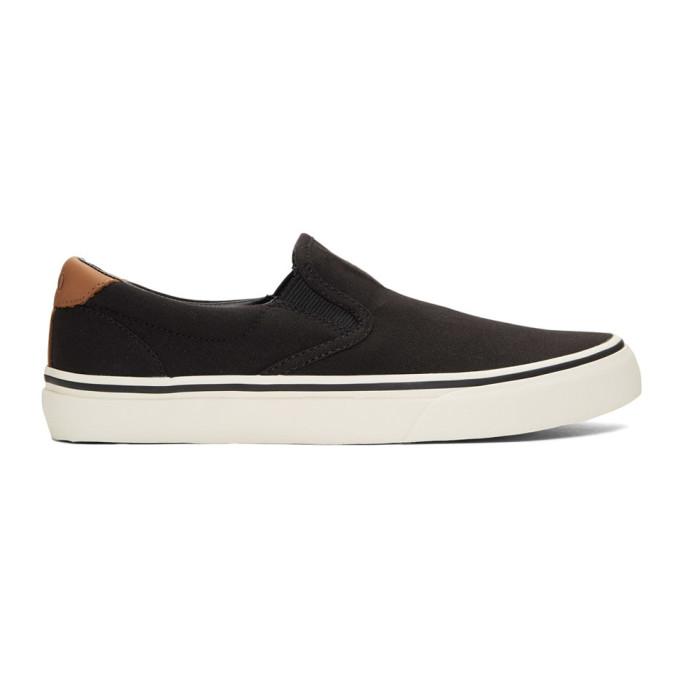 Polo Ralph Lauren Black Thompson Sneakers