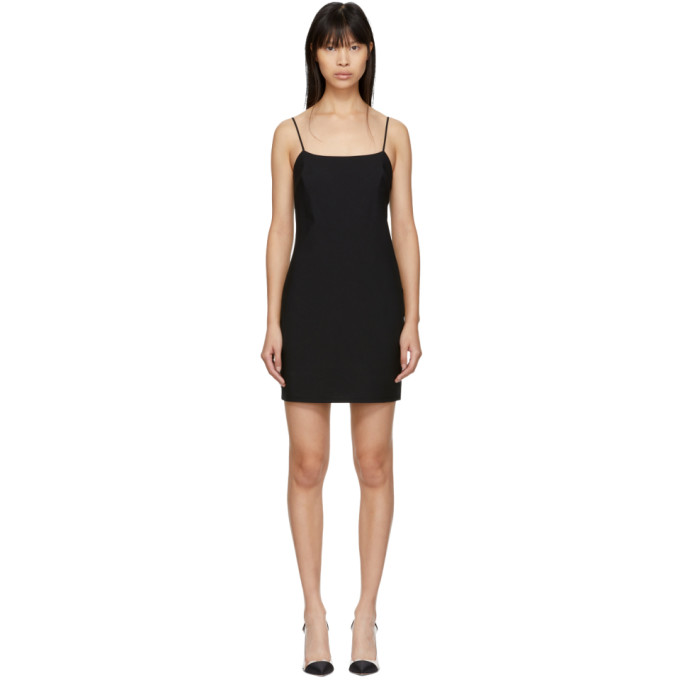 ALEXANDERWANG.T Washable Wool Mini Dress in Black