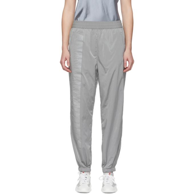 ALEXANDERWANG.T. Alexanderwang.T Silver Washed Lounge Pants in 110 Silver