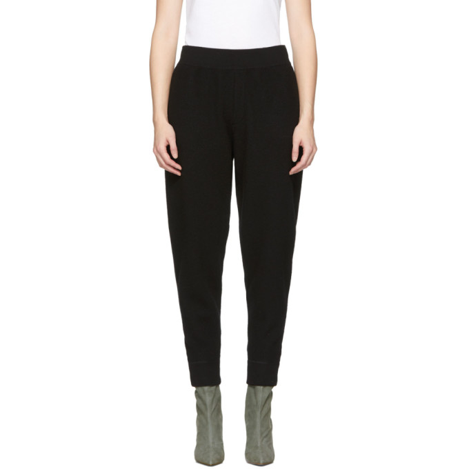 ALEXANDERWANG.T Alexanderwang.T Black Wool Lounge Pants in 001 Black