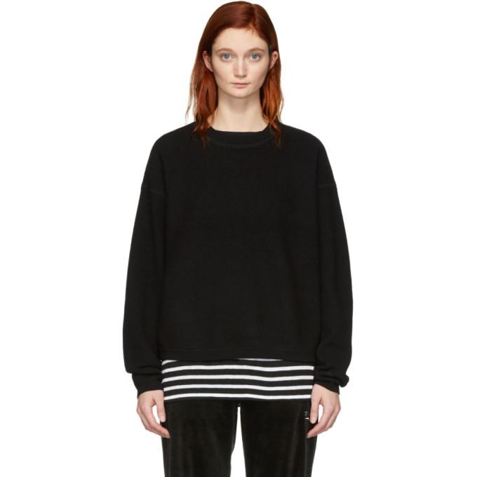 ALEXANDERWANG.T. Alexanderwang.T Black Wool Pullover in 001 Black