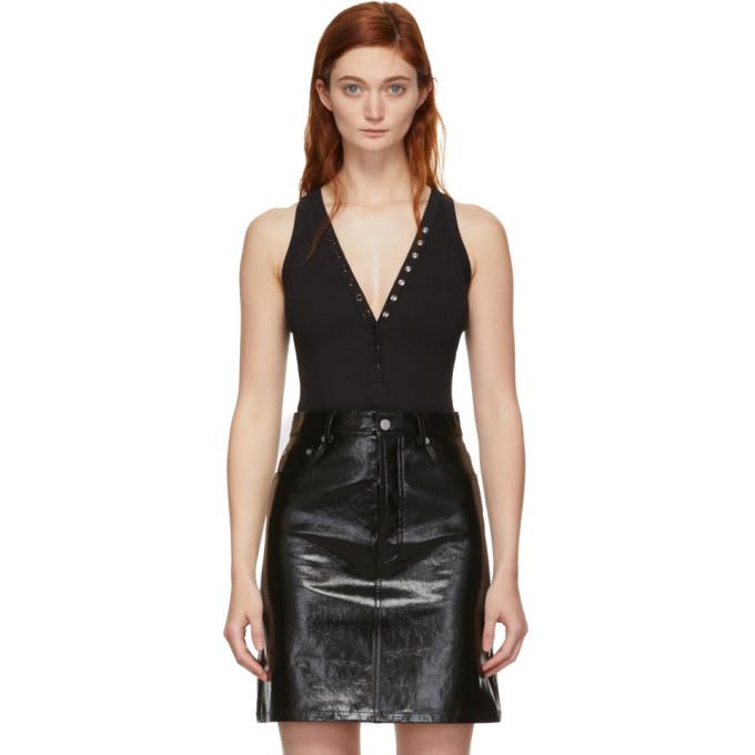 alexanderwang.t Body noir Compact Jersey Snaps