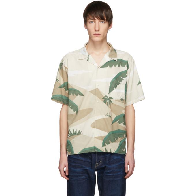 Kuro T-shirts KURO KHAKI RESORT CAMO SHIRT