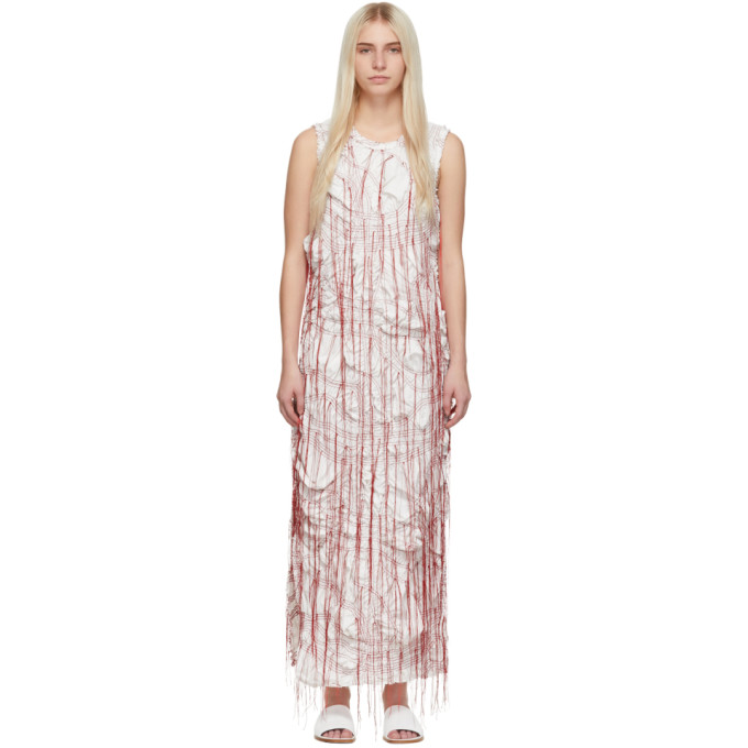 Marina Moscone Robe blanche Sheath
