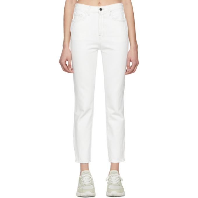 Jordache Jean blanc Vintage Crop