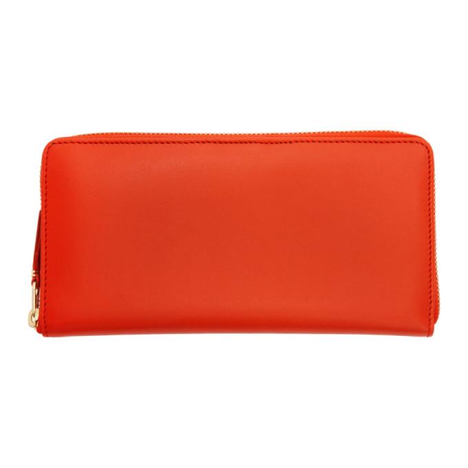 Comme des Garçons Wallets Orange Classic Continental Wallet