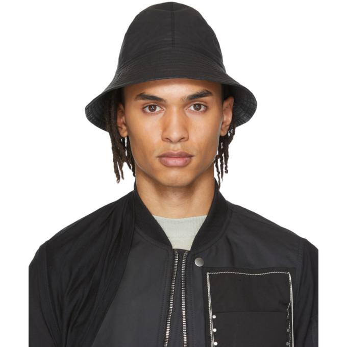 Rick Owens Chapeau noir Giligan