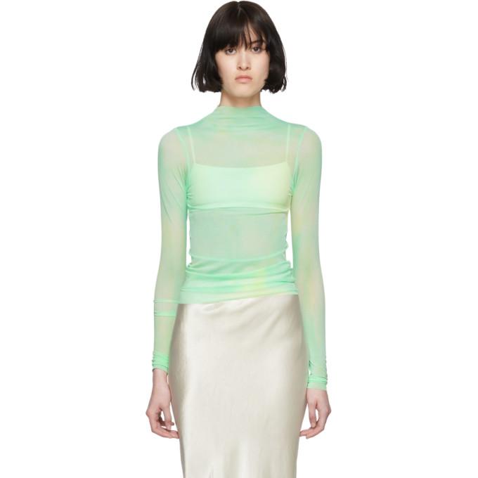 Collina Strada T-shirt a motif tie-dye vert Nova