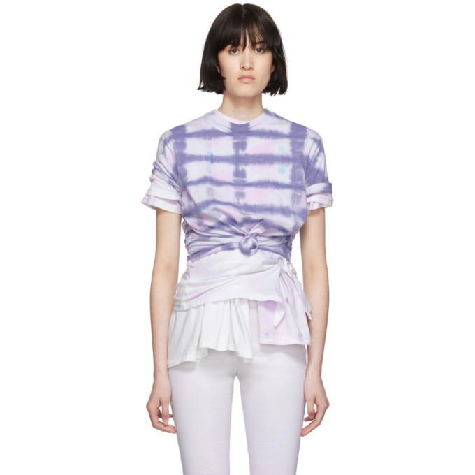 Collina Strada T-shirt mauve Triple Tie