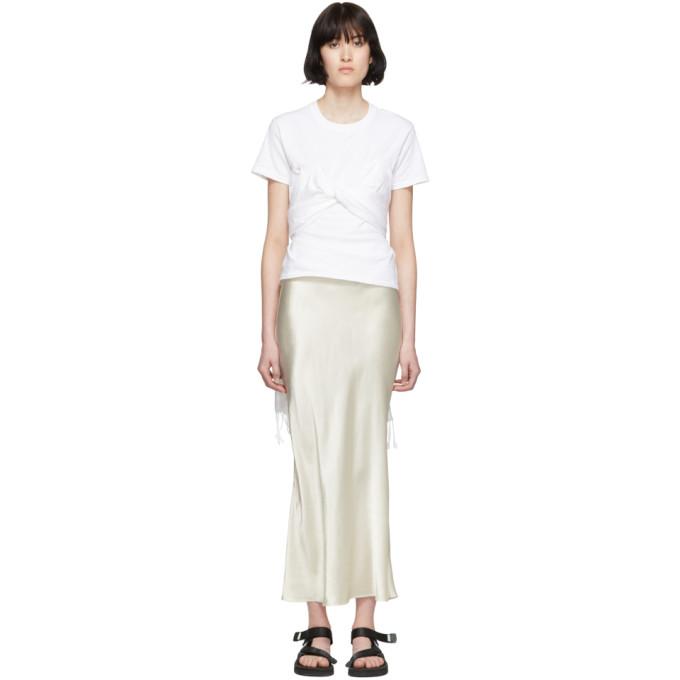 Collina Strada T-shirt blanc Pashmina