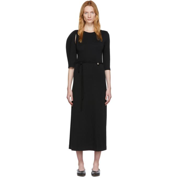Rudi Gernreich Robe asymetrique noire