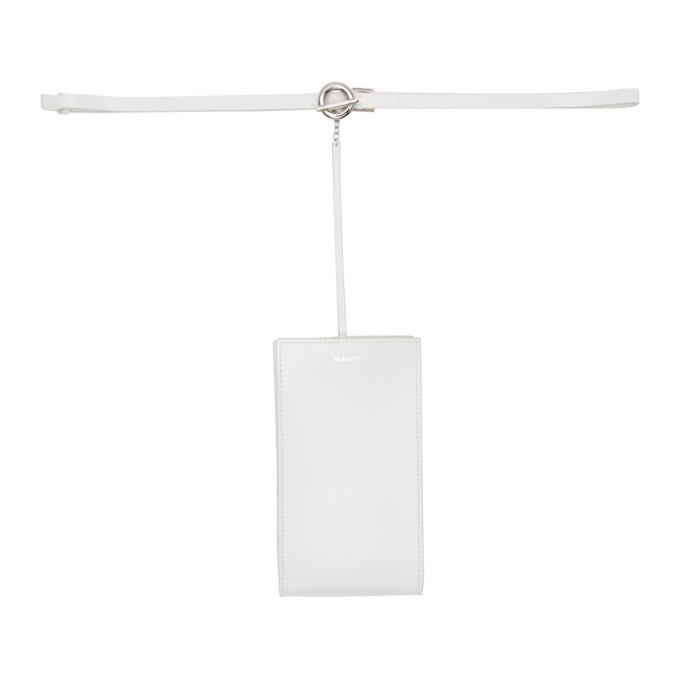 JIL SANDER | Jil Sander White Mini Belt Bag | Goxip