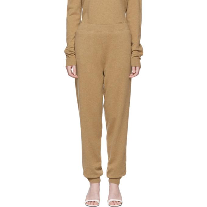 Image of Jil Sander Beige Cashmere Lounge Pants