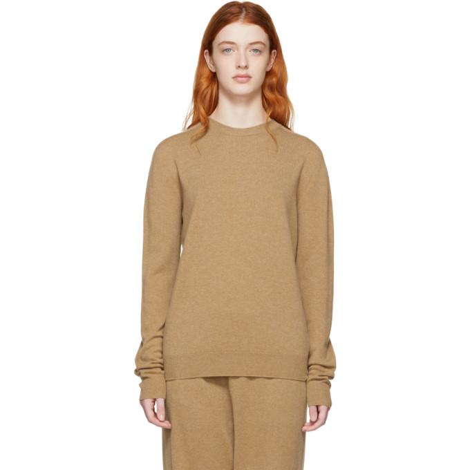 Image of Jil Sander Beige Cashmere Sweater