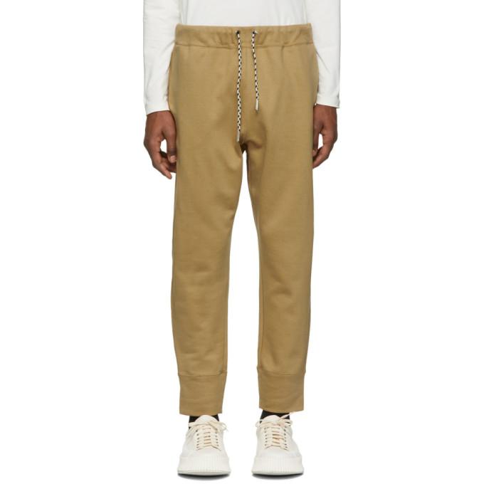 Image of Jil Sander Beige Jersey Lounge Pants