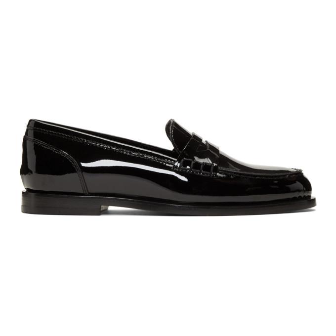 Balmain Black Kriss Loafers