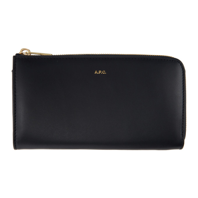 A.P.C. Navy Lise Wallet