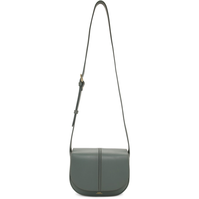 Betty Leather Crossbody Bag in Blue