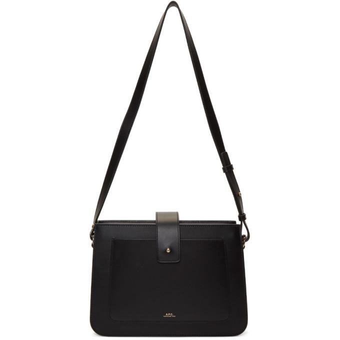 Image of A.P.C. Black Albane Bag
