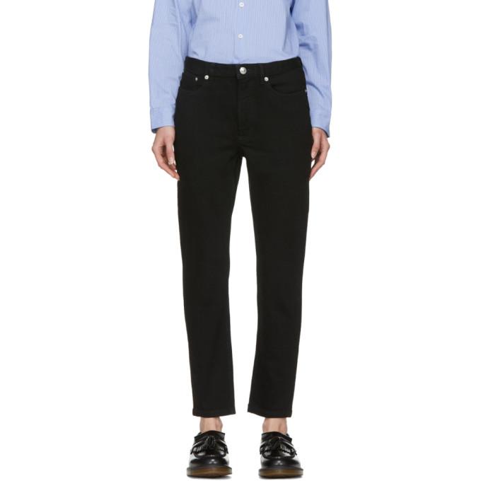 Image of A.P.C. Black 80s Jeans