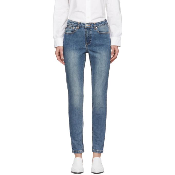 A.P.C. Indigo Standard Jeans