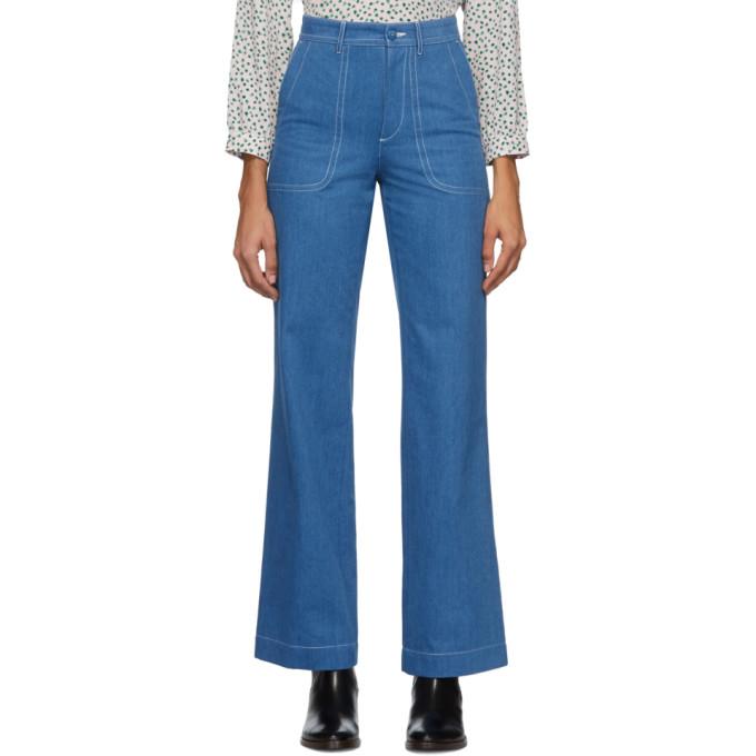 A.P.C. Indigo Seaside Jeans