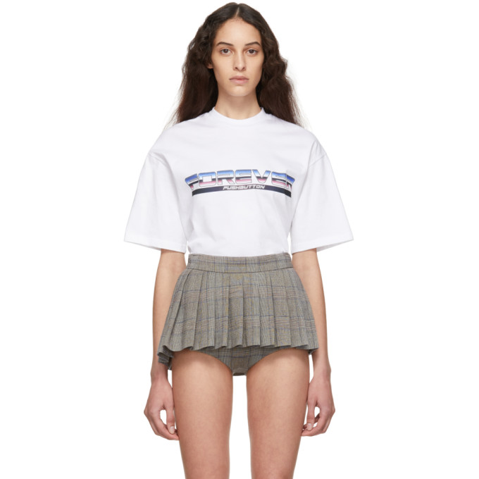 Pushbutton PUSHBUTTON WHITE FOREVER T-SHIRT