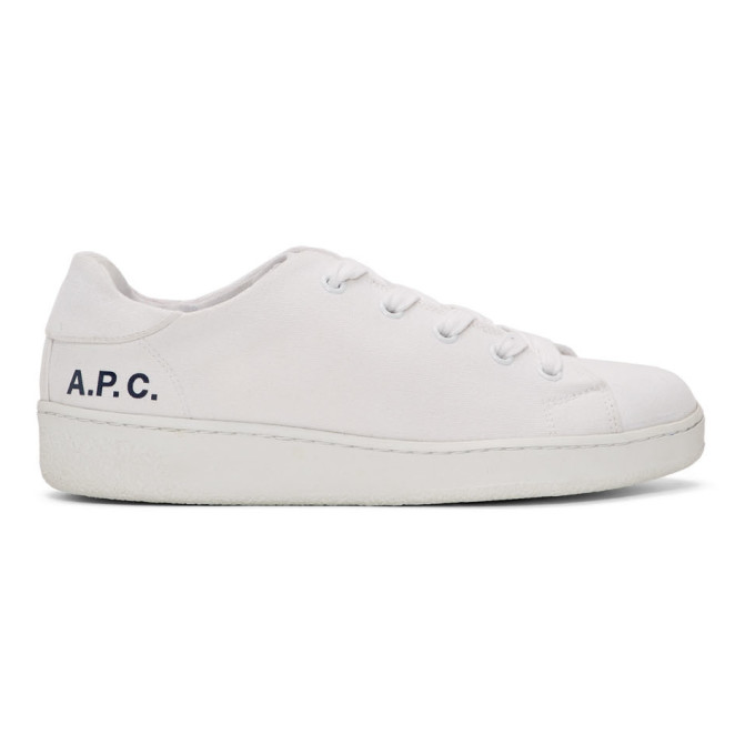 A.P.C. Baskets blanches Minimal
