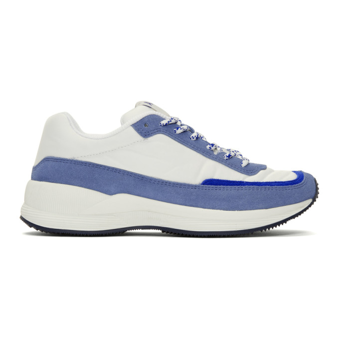 A.P.C. Baskets grises et blanches Running Femme