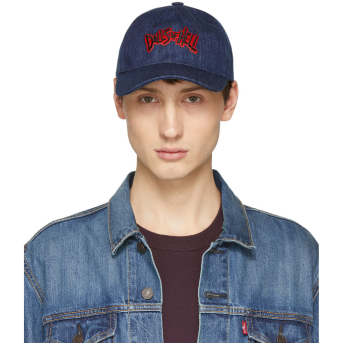 A.P.C. Casquette indigo Aaron Dolls Of Hell