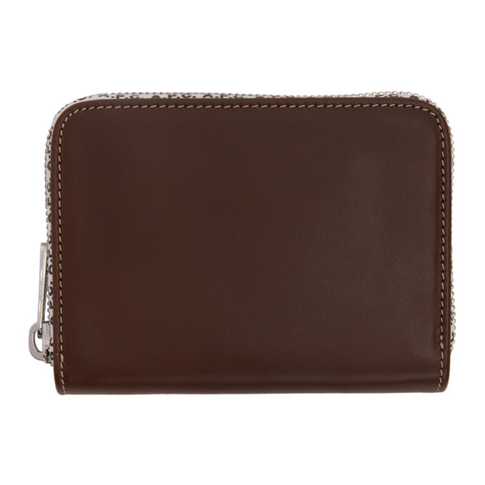 A.P.C. Brown Dallas Wallet
