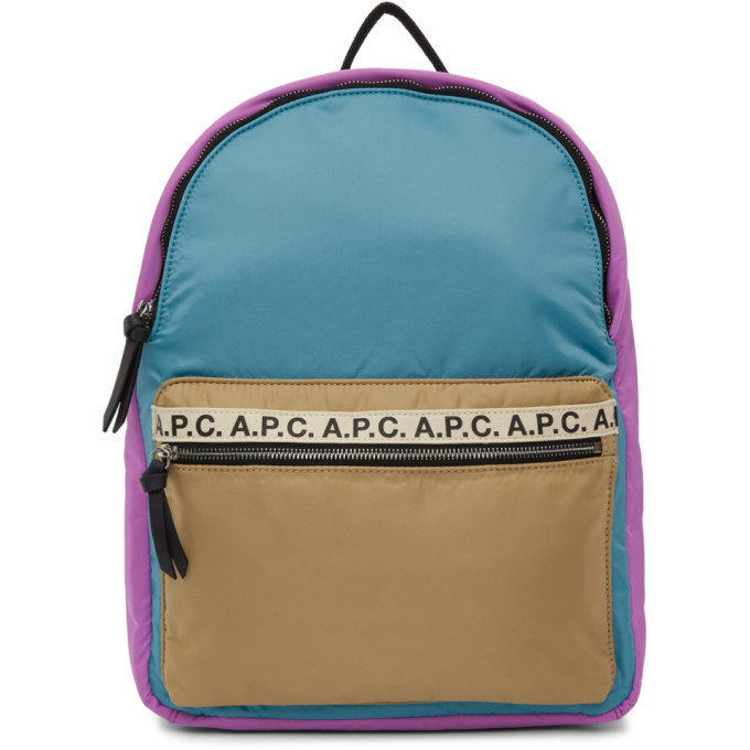 A.P.C. Multicolor Marc Backpack