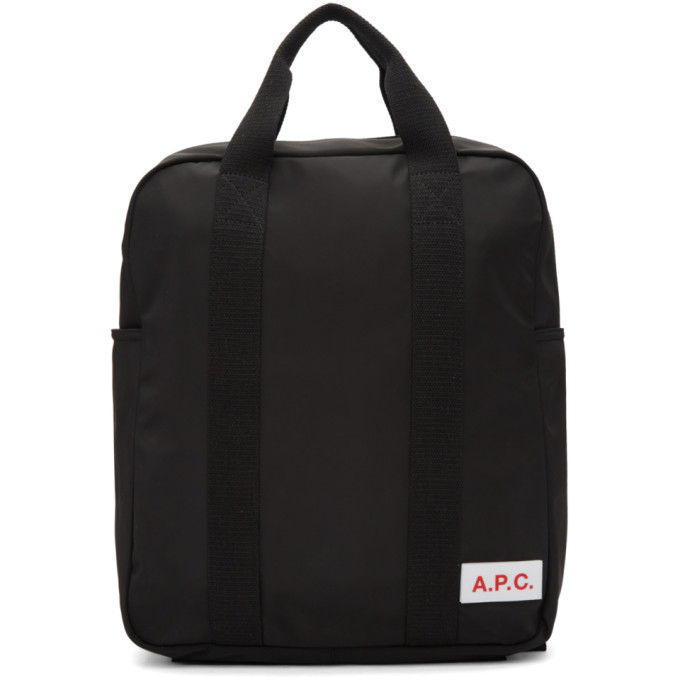 A.P.C. Black Protection Backpack