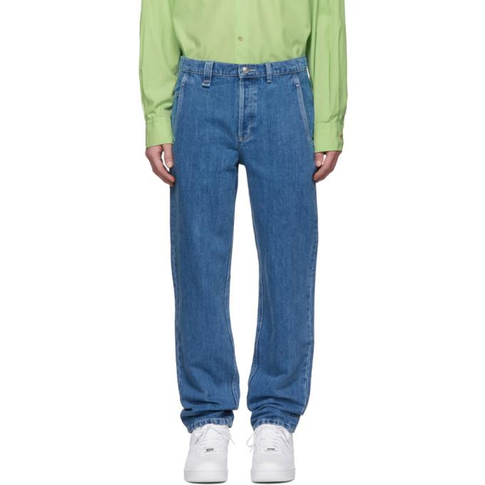 A.P.C. Indigo Carpenter Jeans