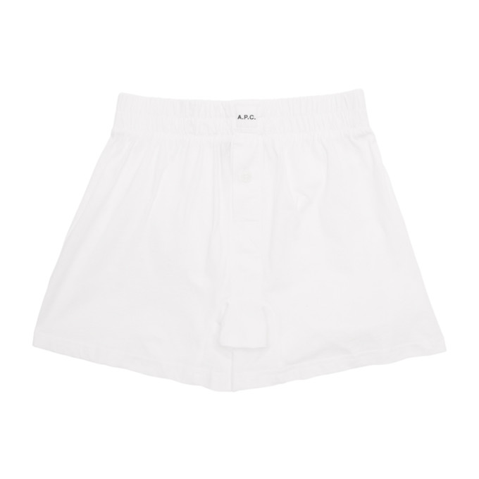 A.P.C. Boxer blanc Cabourg