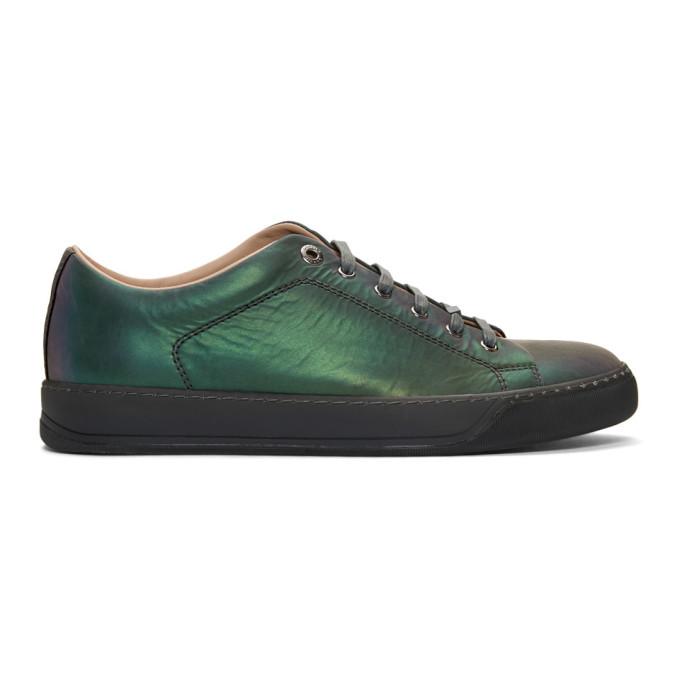 Lanvin Multicolor Iridescent Sneakers