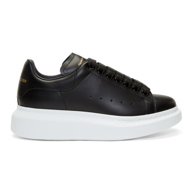 Alexander McQueen Black Oversized Sneakers