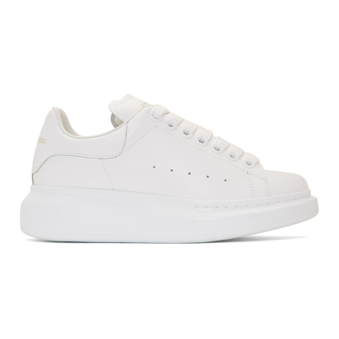 Alexander McQueen White Oversized Sneakers