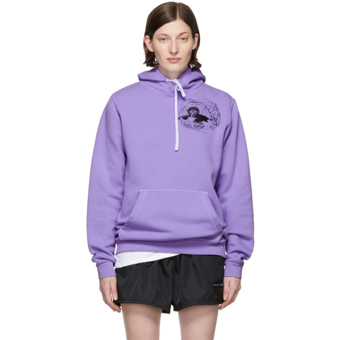 ERL Pull a capuche mauve Witch 1 edition Nike
