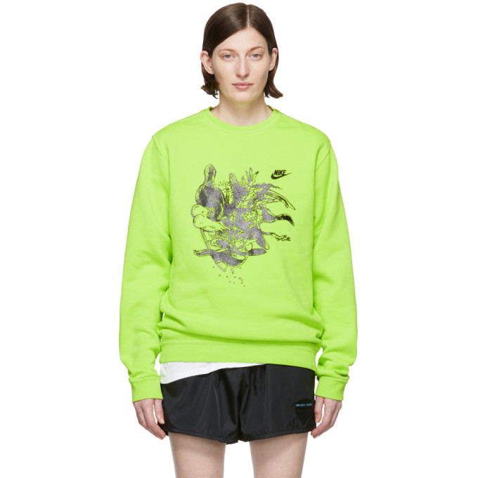 ERL Pull molletonne vert Witch 4 edition Nike
