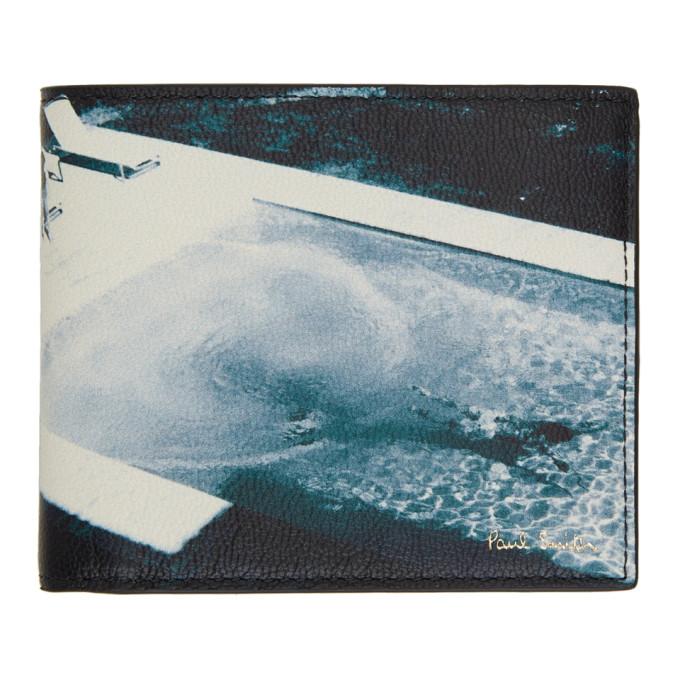 Paul Smith Pauls Photo コレクション ブルー ビーチ ウォレット