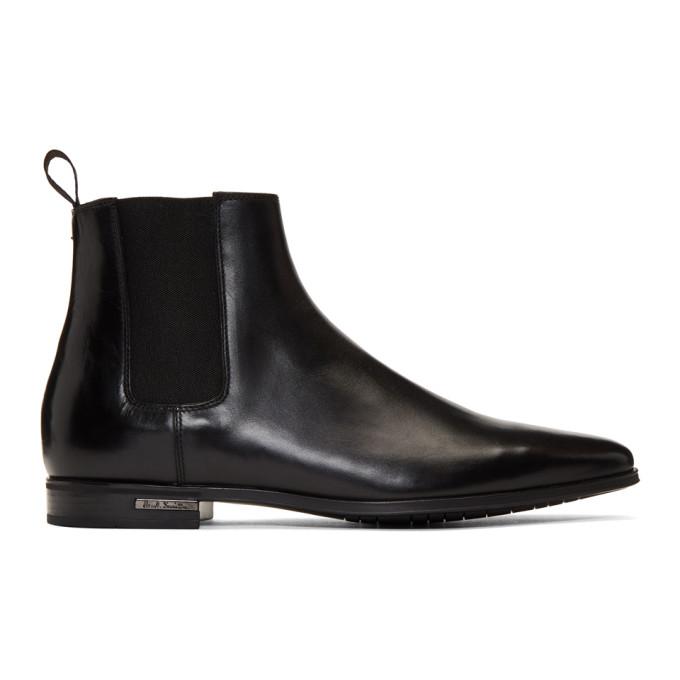 Paul Smith Black Hamptons Chelsea Boots