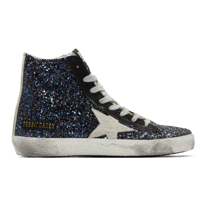 Golden Goose Multicolor Glitter Francy Sneakers